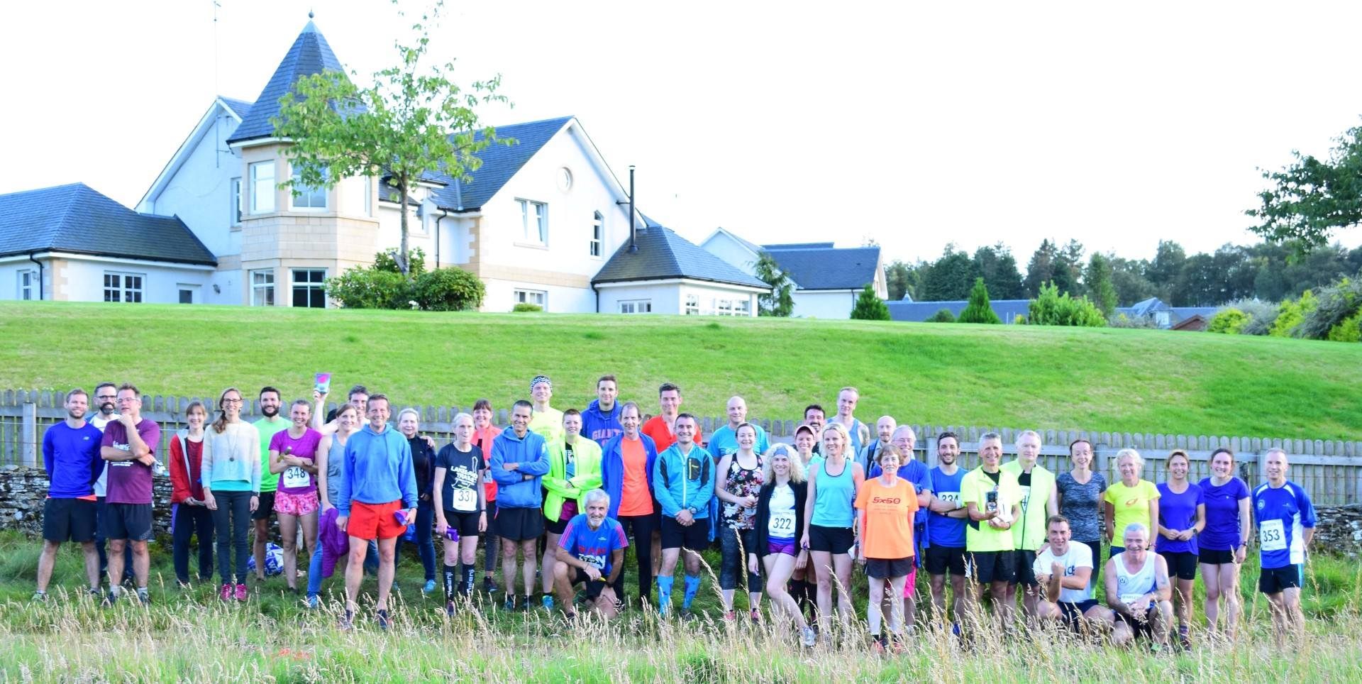auchterhouse hill race